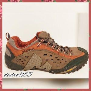 Merrell Continuum intercept rust sneakers  size 15